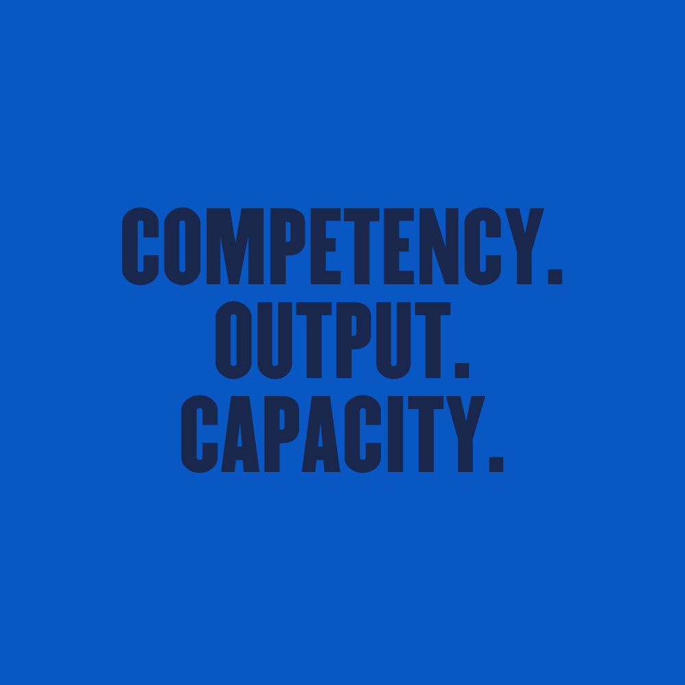 Competency.Output.Capacity