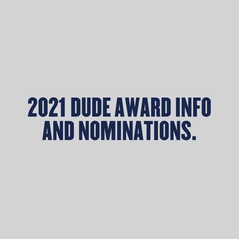 2021 Dude Award